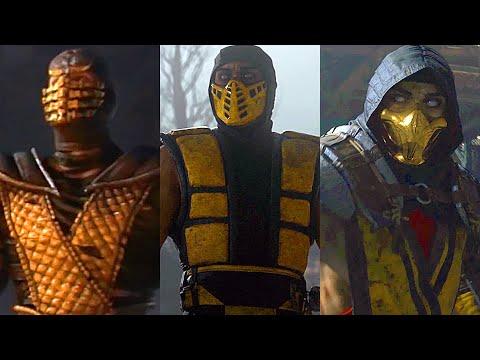 Mortal Kombat MOVIE Complete Saga 9, 10 & 11 All Cutscenes Full Story (MK11)