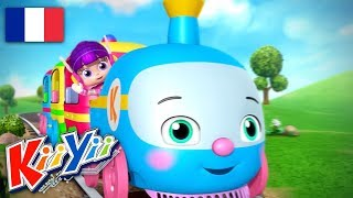 Choo Choo Train | Comptines et Chansons Pour Bébé | Dessins Animés | KiiYii En Français