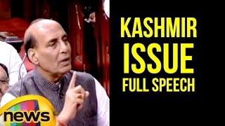 Rajnath Singh Full Speech In Rajya Sabha On Kashmir Issue