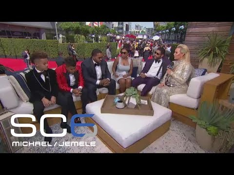 Prince Fielder Brings Family Out For Interview   SC6   July 12, 2017