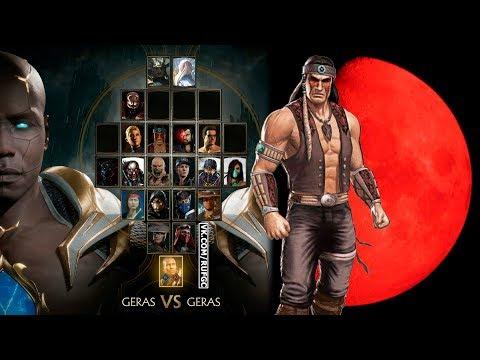 Mortal Kombat 11. Ростер 22.01.2019. Найтвульф или При чем тут Волчья Луна?