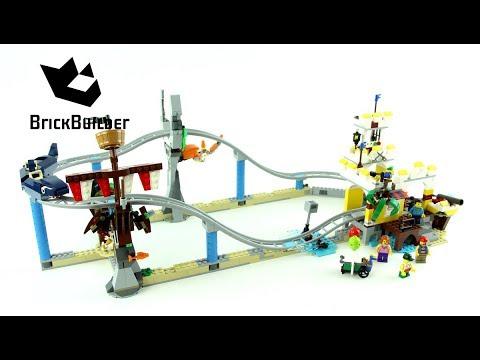 Vidéo LEGO Creator 31084 : Les montagnes russes des pirates