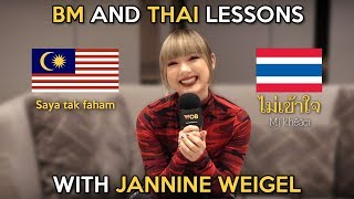 Bahasa Malaysia And Thai Lessons With Jannine Weigel