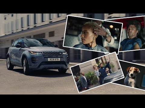 New Range Rover Evoque social experiment in the street