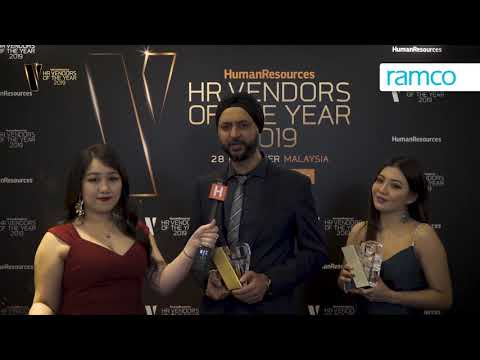 Ramco wins awards at HR Vendors of the Year 2019!
