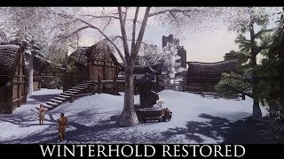Skyrim SE Mods: Winterhold Restored