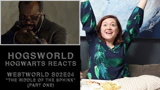 """Hogwarts Reacts: Westworld S02E04: """"The Riddle of the Sphinx"""" (part one)"""