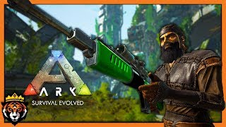 APEX Sarco Taming & Losing my Mount! (Ark Survival Evolved