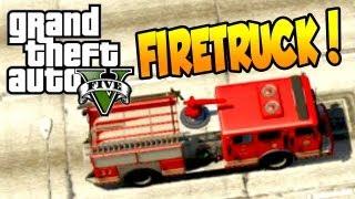 GTA 5 Fire Truck - Fire Station & 911 (ALL GTA V FireTruck Locations)