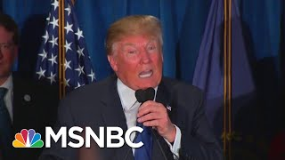 Racist Trump Spectacle Distracts From Other Damaging Trump News | Rachel Maddow | MSNBC