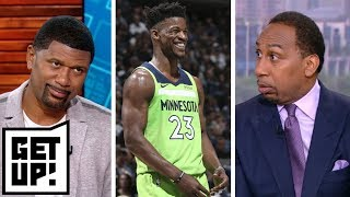 Stephen A., Jalen Rose discuss Jimmy Butler's potential trade destinations | Get Up! | ESPN