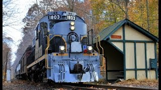 preview picture of video 'West Chester Railroad: 1803 Wearing a Prime 920'