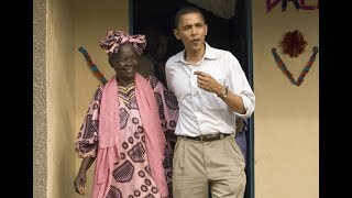 Mama Sarah Obama shows her excitement as 'grandson returns home'