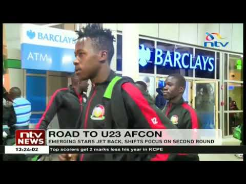 Emerging Stars jet back, shift focus on second round of AFCON