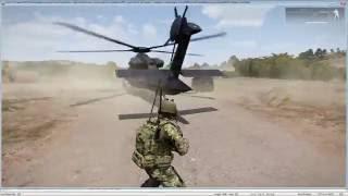Arma 3 - Supply Drop Script (Paradrop + Land and Unload)