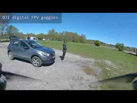 DJI digital FPV air unit and goggles DVR at 700mW - Holybro Kopis2 HDV 6S 1000mAh #1 (2020 #64)