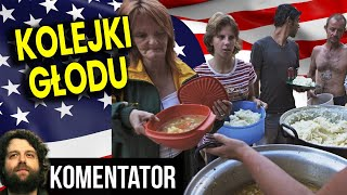 Kolejki Głodu! Ludzie w USA i Europie Nie Mają CO JEŚĆ Bo Gospodarka Zniszczona Analiza Komentator