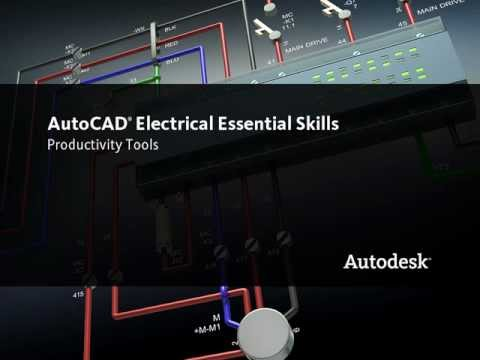 Editing Schematics Productively in AutoCAD Electrical