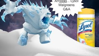 Answering Questions Regarding the Lysol Deal