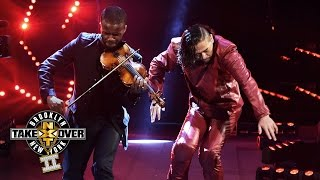 Shinsuke Nakamura's entrance: NXT TakeOver: Brooklyn II, only on WWE Network