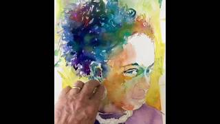 California Vibe Watercolor Portraiture™, Part Two