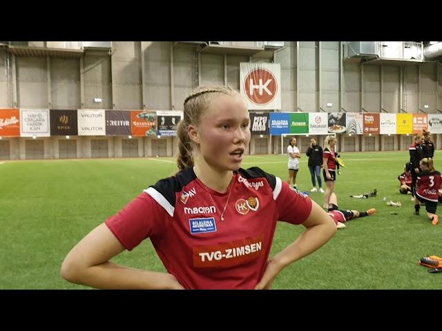 Arna Eiríks: Fólk var að spyrja um stemminguna