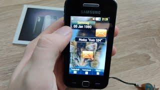Mein ERSTES Touch Handy! (13 Jahre altes Modell) Samsung Star Gt-s5230