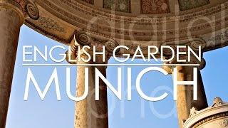 preview picture of video 'Englischer Garten Monopteros Chinesischer Turm München'