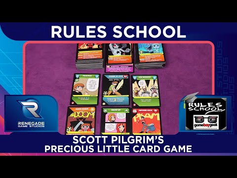 How to Play Scott Pilgrim (Rules School) with the Game Boy Geek
