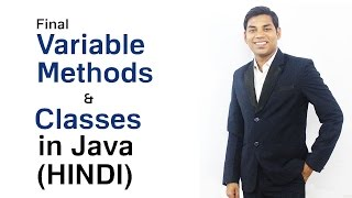 Final Variable Methods and Classes in Java (HINDI)
