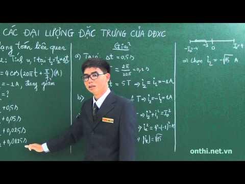 Chương 3-Bài 1-Các đại lượng đặc trưng của dòng điện xoay chiều