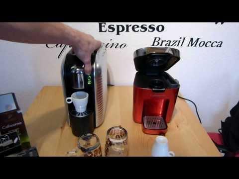 Test: Aldi Expressi Kapseln in Cafissimo Maschine