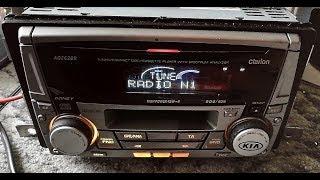 Clarion - ADZ628R , Autoradio mit kassette und CD [FULL-HD 60FPS]