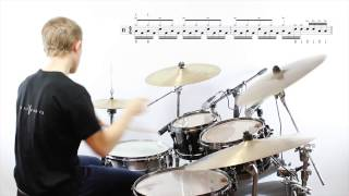 Daily Chops #110 – Rock Drum Fill No. 16: Fake Double Bass Pedal