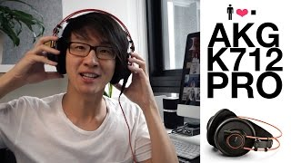 AKG K712 Pro 'Reference' Headphone Review