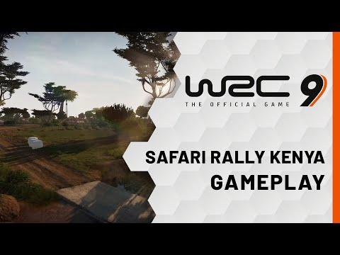 Gameplay Kenya de WRC 9