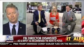 Rand Paul on Donald Trump Firing James Comey