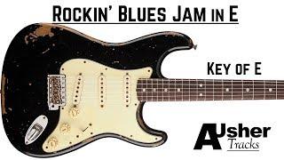 "Video thumbnail of ""E Blues Backing Track | Guitar Backing Track in E major"""