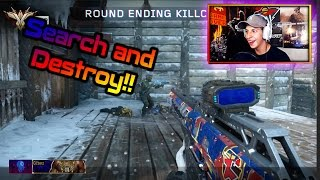 BO3 SnD SNIPING with New FaZe Camo!! +New Posters (Black Ops 3 Search and Destroy Gameplay)