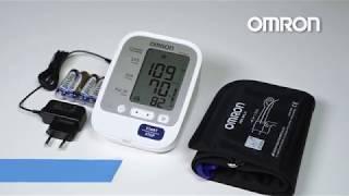 Тонометр Omron M3 Expert с адаптером и универсальной манжетой от компании Медтехника Доброта - видео