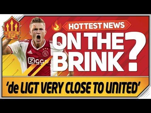 De Ligt Transfer Very Close! Man Utd Transfer News
