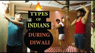 Types Of Indians During DIWALI || JaiPuru