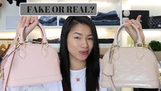 Louis Vuitton Alma Bag, Real Or Fake?