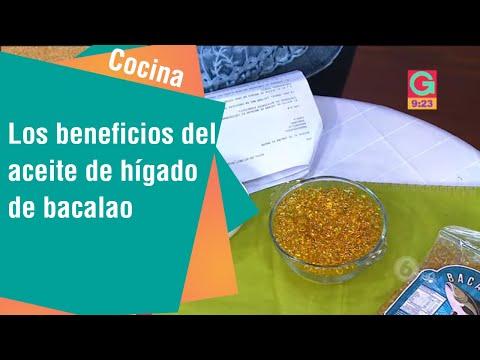 Los beneficios del aceite de hígado de bacalao