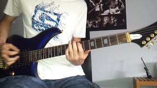 Judas Priest - Halls Of Valhalla With Solos Guitar Cover [TAB] [HD]