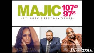 Demetria McKinney Chats with Chubb Rock and Si Man on Majic 107.5 (6/8/15)