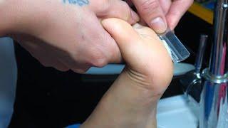 [ ASMR FOOT SCRUB ]  발 스크럽 ASMR 베트남 서비스 Foot Scrub ASMR Vietnam Services.