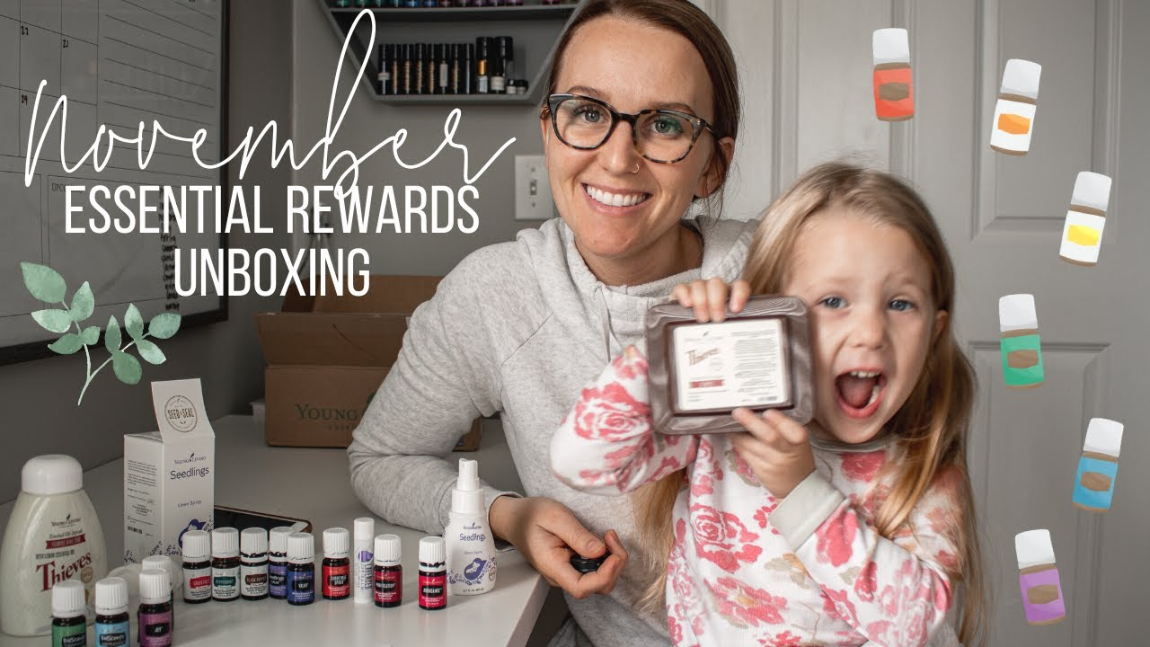 Young Living November Essential Rewards Order | Unboxing Video