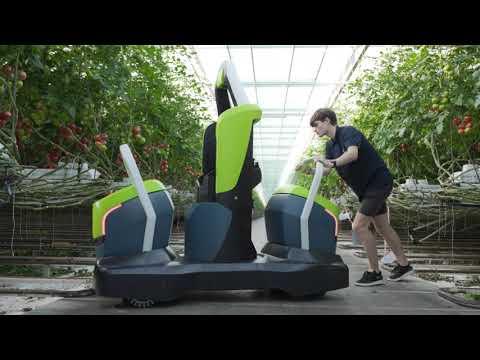 Predstavljen Kompano - Prvi robot na svetu za uklanjanje listova paradajza