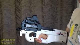 P90 Electric Auto Toy Gun צעצוע אוטומטי שיורה כדורי סליים